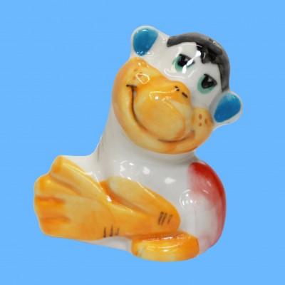 Фигурка обезьянка ладушки