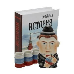 """Набор """"Медведев + 3 рюмки"""""""
