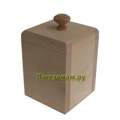 Шкатулка квадратная со съемной крышкой