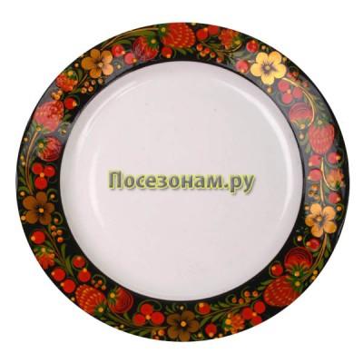 Тарелка (хохлома)