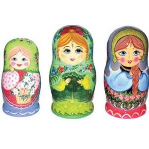 Ассортимент матрешки 5 - 12 кукольной (авторской)