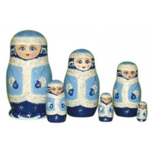 Матрешка 5 - 12 кукольная (авторская)