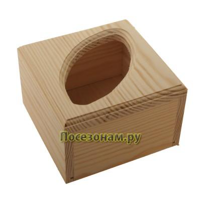Салфетница из дерева 042-2