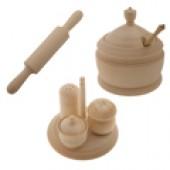 Деревянные заготовки кухонных аксессуаров