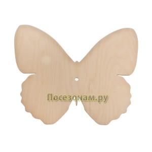 """Деревянная заготовка циферблата для часов """"Бабочка"""""""