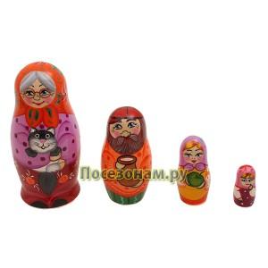 Матрешка 4-х кукольная (авторская)