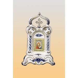 Киот «Озарение» (гжель)