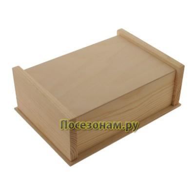 Шкатулка деревянная большая 131-1