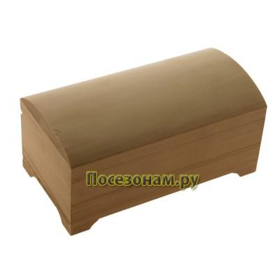 Деревянная заготовка пенал сундучок (купюрница) 10 х 18 х 8,3 см