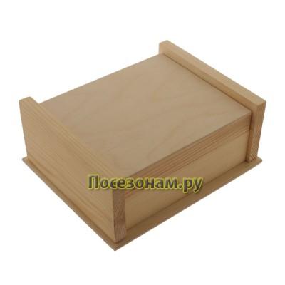 Шкатулка деревянная средняя 131-2