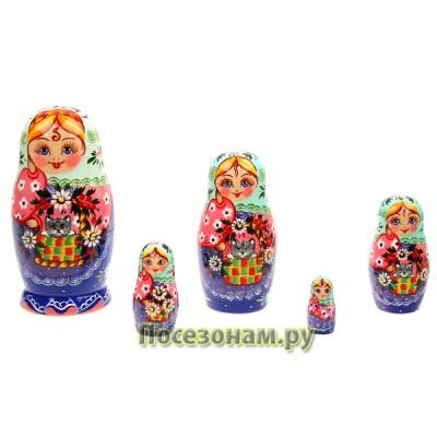 Матрешка 5 - 12 кукольная (авторская) хохлома