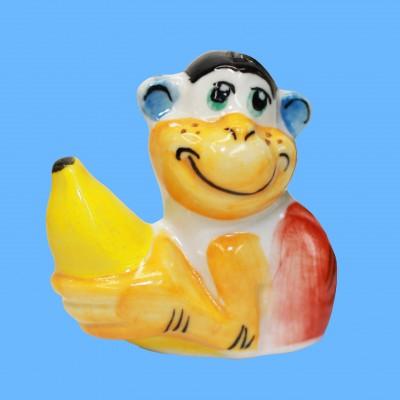 Фигурка обезьянка бананчик