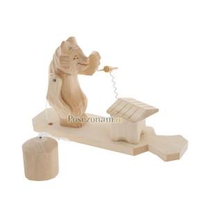 """Богородская игрушка """"Мишка и пчелка"""""""