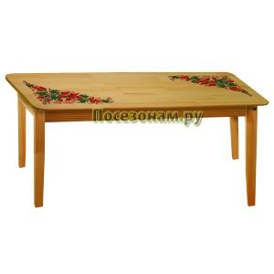 Столик малый с художественной росписью (хохлома)