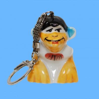 Брелок обезьяна поцелуйчик