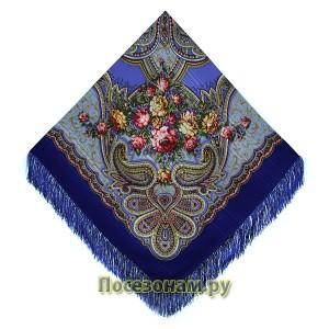 "Павловопосадская шаль ""Любви желанная пора"""