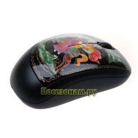 Мышь компьютерная беcпроводная с художественной росписью
