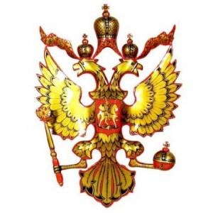 Герб резной (хохлома)