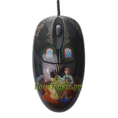 Мышь компьютерная с художественной росписью