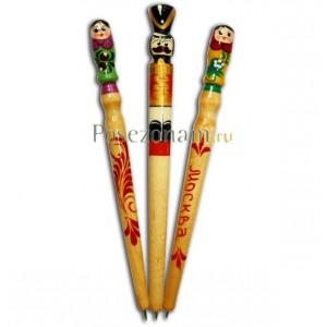 Ручка деревянная раписная