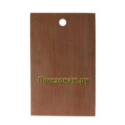 Доска разделочная из цельного дерева 35х22х1,5 cм