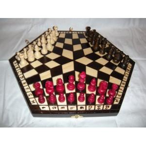 """Шахматы №162, """"На троих"""", большие"""