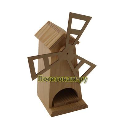 """Чайный домик из дерева """"Мельница"""" 007-3"""