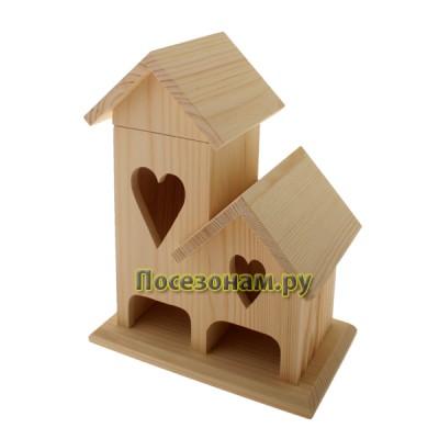 Чайный домик двойной (со съемной крышей)