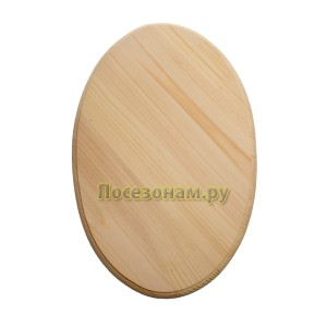 Деревянная заготовка панно (овал)